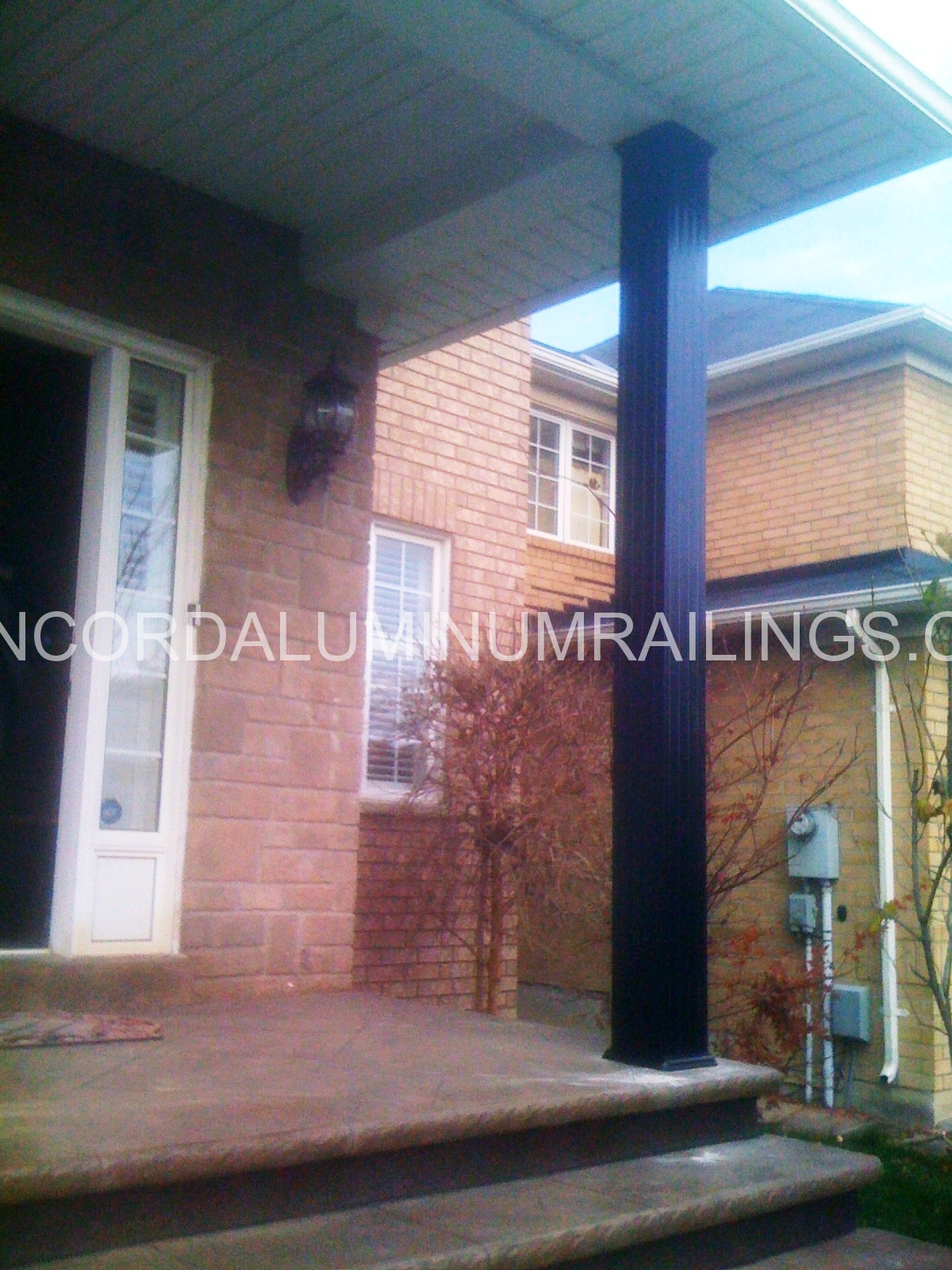 certasnap product columns post wrap vinyl aluminum porch maintenance free